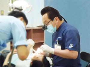専門医による治療